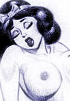 Rosalys strokes virgin Valentine