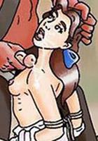 Hot Belle slamming Cogsworth's dick