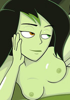 Shego got throatfucked