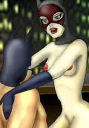 Sexy Talia al Ghul gets fucked rough by Dick Grayson