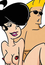 Little Suzy getting Johnny Bravo's throbing cock