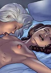 Nice Padme moans in pain