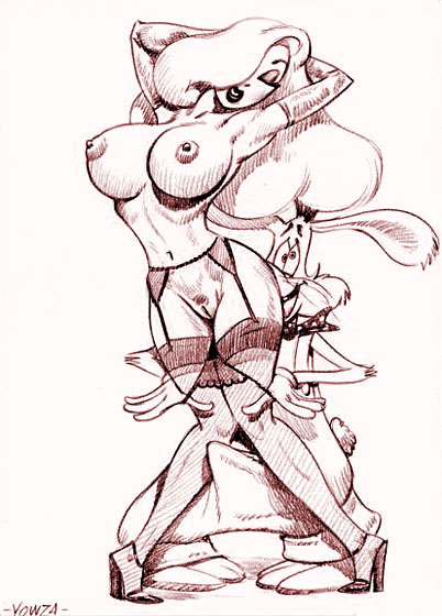 Betty Boop is nailed by Roger Rabbit and takes sticky cum :: at XL Toons