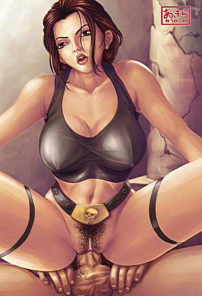 XL Toons || Lara Croft gets hard fucked by big wang