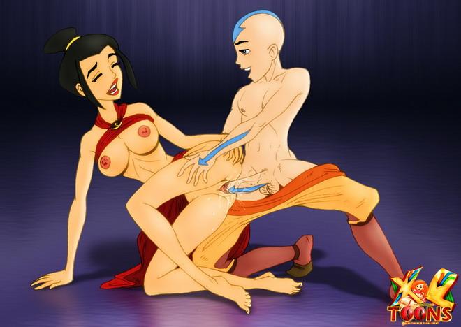Если Вы искали порно версию мультфильма Аанг для взрослых карти